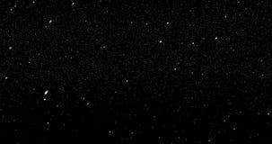 Particelle di neve che cadono dal cielo royalty illustrazione gratis