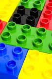 Particelle elementari Fotografia Stock