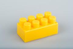 Particelle elementari di plastica Immagini Stock