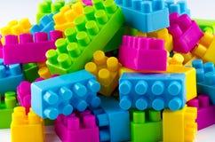 Particelle elementari di plastica Immagini Stock Libere da Diritti