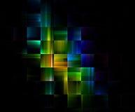 Particelle elementari solide Fotografia Stock
