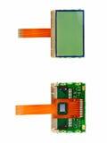 Partición del repuesto de la visualización del LCD. fotografía de archivo libre de regalías