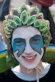 Participant of carnival-2 Stock Photos