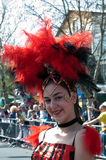 Participant of carnival-3 Stock Images