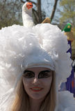 Participant of carnival-4 Royalty Free Stock Photography