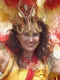 Participant at copenhagen carnival 2012 Stock Images