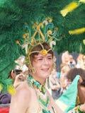 Participant at copenhagen carnival 2012 Stock Photos
