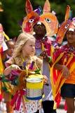 Participant de défilé Image libre de droits