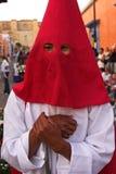 Participant de festival de Pâques au Mexique Photographie stock libre de droits