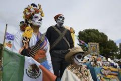 Participant during dia de Muertos Royalty Free Stock Photo