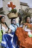 Participant during dia de Muertos Royalty Free Stock Photos