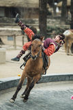 Participant a the Equestrian Feats act, South Korea Royalty Free Stock Photos