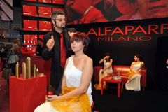 Participant(s) of the Beauty Hair & Spa Exhibition organized by Health and Beauty Business Media kft. Stock Photo