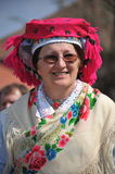 Participant(s) of the traditional Easter Festival at April 12, 2009 in Holloko, Hungary. Village is UNESCO World Heritage Site. Royalty Free Stock Image