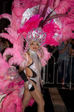 Participant in Sydney Gay Mardi Gras Parade Stock Photos