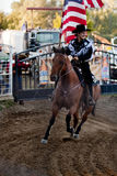 Participant at the Willits rodeo Stock Photography