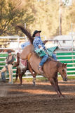 Participant at the Willits rodeo Stock Images
