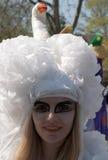 Participante de carnival-4 fotografia de stock royalty free