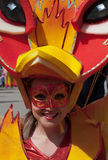 Participante de carnival-7 imagens de stock royalty free