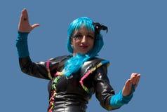 Participante de carnival-8 imagem de stock royalty free