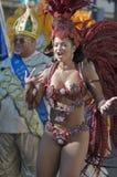 Participante del carnaval Imagenes de archivo