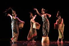 Participante del día de la danza del mundo de Java Fotos de archivo libres de regalías