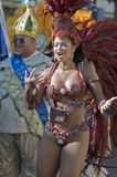 Participante do carnaval Imagens de Stock