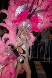Participante en desfile alegre del carnaval de Sydney fotos de archivo