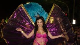 Participante en el carnaval del homosexual y lesbiana de Sydney, marzo 2,2013 Fotos de archivo libres de regalías