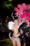 Participante na parada alegre do carnaval de Sydney Fotografia de Stock Royalty Free