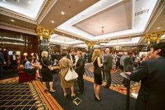 Participantes da cerimônia de entrega dos prêmios nacional anual Imagem de Stock