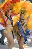 Participantes del carnaval Imagen de archivo