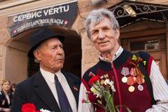 Participantes del regimiento inmortal - acción pública internacional Fotografía de archivo libre de regalías