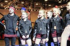 Participantes do grupo da dança Imagem de Stock