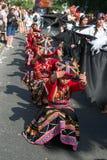 Participantes en el der Kulturen de Karneval Imágenes de archivo libres de regalías