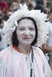 Participantes en el orgullo alegre 2012 de Bolonia fotos de archivo