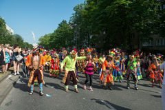 Participantes no der Kulturen de Karneval Imagens de Stock Royalty Free