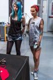 Participants à la 10ème convention internationale de tatouage au centre de Congrès-EXPO Photo stock