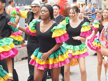 Participants At Copenhagen Carnival 2012 Stock Photography