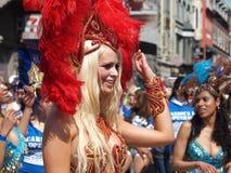 Participants de carnaval de Copenhague Images stock