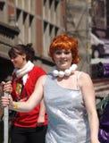 Participants de carnaval de Copenhague Image libre de droits