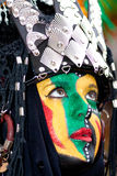 Participants at Fiesta Moros and Cristianos. ALICANTE, SPAIN - JUNE 8: Unidentified participants at Fiesta Moros and Cristianos, costume parade on the streets of Stock Photo