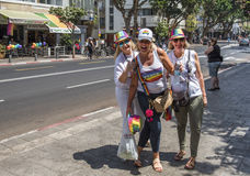 Participants of Gay Parade Royalty Free Stock Images