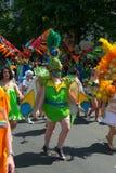 Participants at the Karneval der Kulturen Royalty Free Stock Images