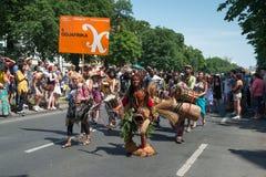 Participants at the Karneval der Kulturen Stock Photos
