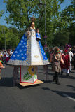 Participants at the Karneval der Kulturen Royalty Free Stock Image