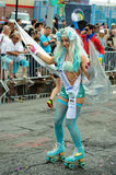 Participants march in the 35th Annual Mermaid Parade at Coney Island Stock Photography
