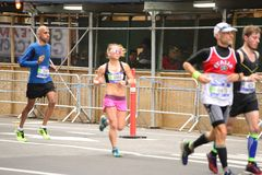 2017 NYC Marathon Stock Photo