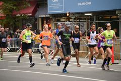 2017 NYC Marathon Stock Photography