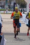 Participants in the Swimrun Costabrava competition in in a small town Playa de Aro in Spain Stock Photo